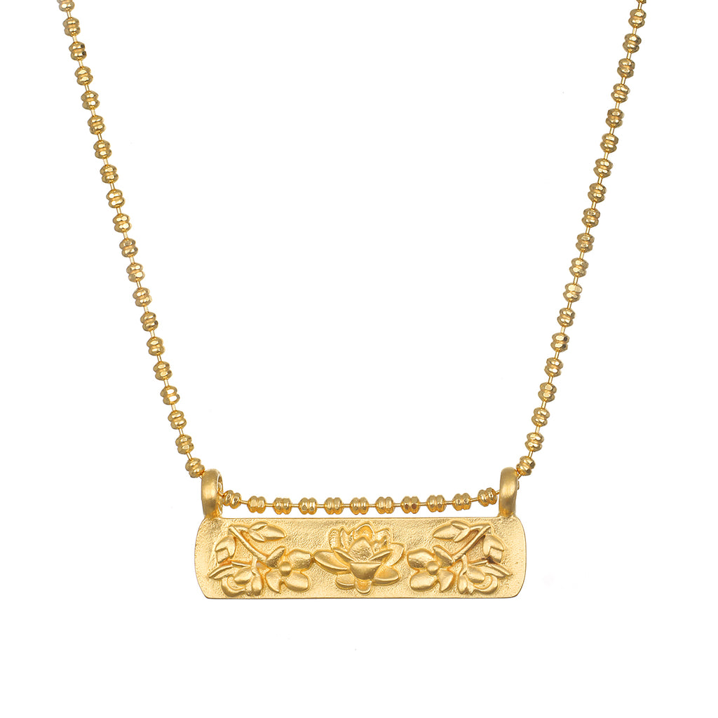 Thriving Spirit Gold Necklace - Satya Jewelry