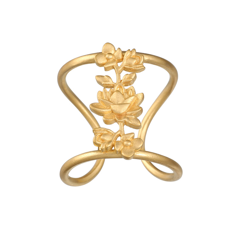Thriving Spirit Gold Ring - Satya Jewelry