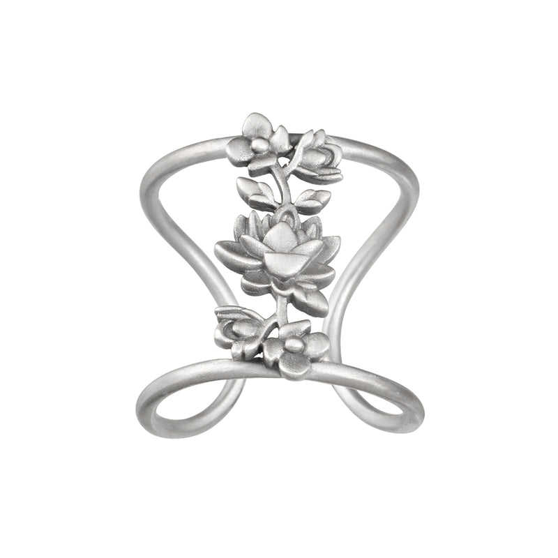 Thriving Spirit Silver Ring - Satya Jewelry