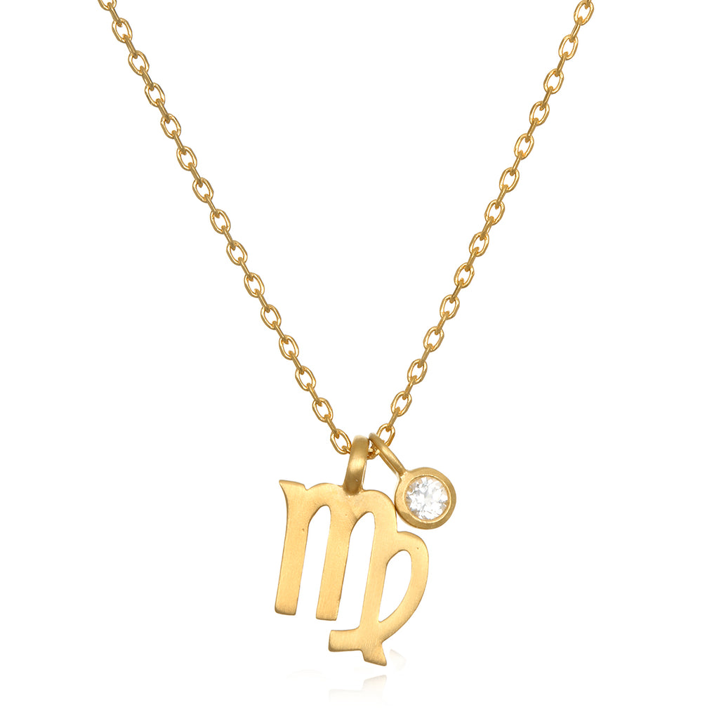 The AstroTwins Virgo Zodiac Necklace