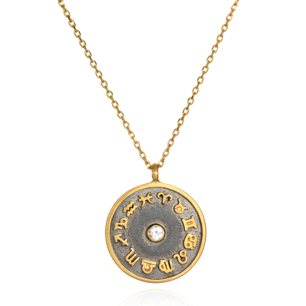 The AstroTwins Divine Zodiac Necklace