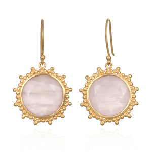 Open Hearted Earrings - Satya Jewelry