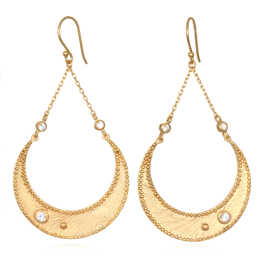 Enchanting Moonbeams Earrings - Satya Jewelry