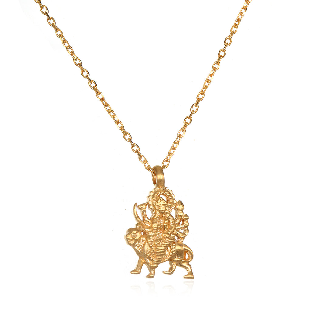 Kimberly Snyder's Fearless Goddess Durga Necklace - Satya Jewelry