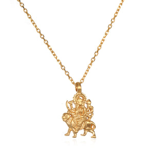 Durga Hindu Goddess Necklace with Kimberly Snyder - Satya Jewelry