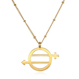 Equal Means Equal - Equality Necklace - Satya Jewelry