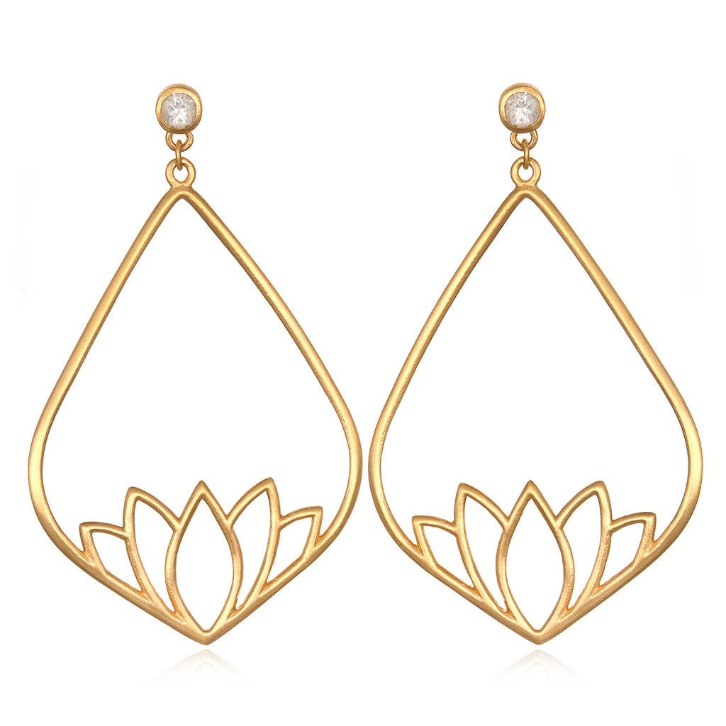 Potential and Positivity Earrings - Satya Jewelry