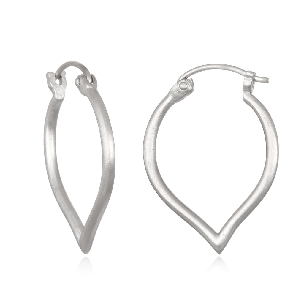 Open to Possibilities Silver Earrings