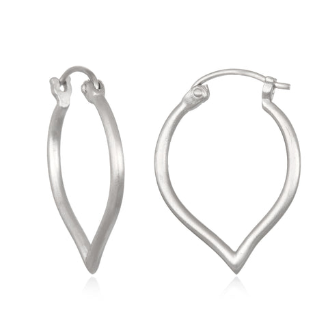 Budding Potential Silver Earrings