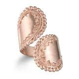Encompass Paisley Wrap Ring - Rose Gold - Satya Jewelry