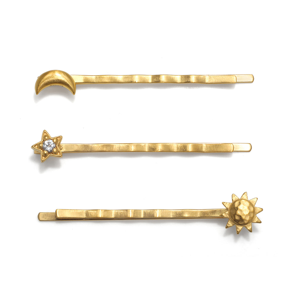 Celestial Trilogy Hair Clip Set