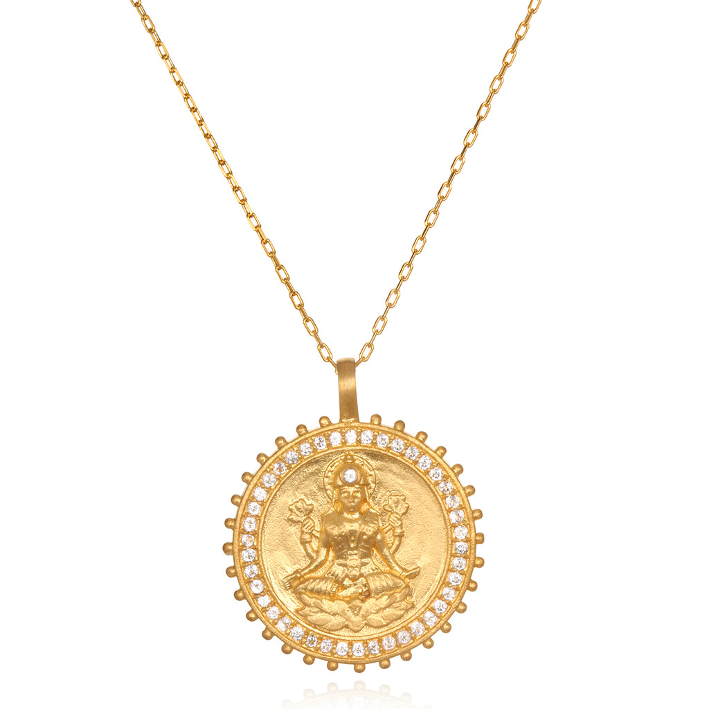 Lakshmi Goddess Necklace - Satya Jewelry