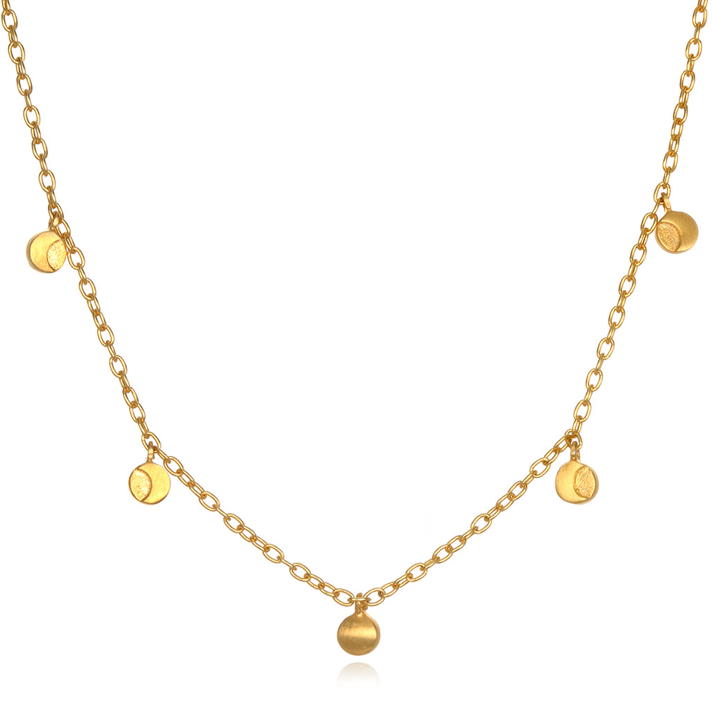 Phases of Femininity Gold Choker - Satya Jewelry