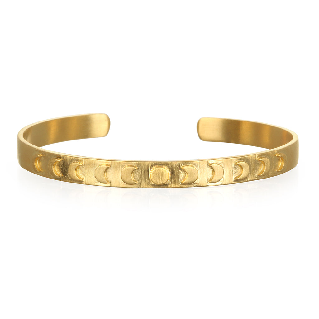Divine Evolution Gold Bracelet - Satya Jewelry