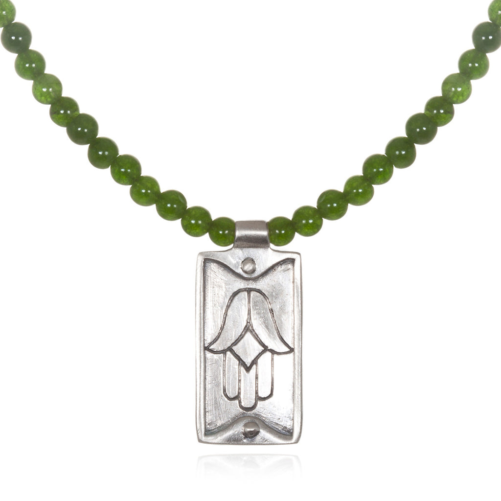 Men's Jade Tenacity Necklace - Satya Jewelry