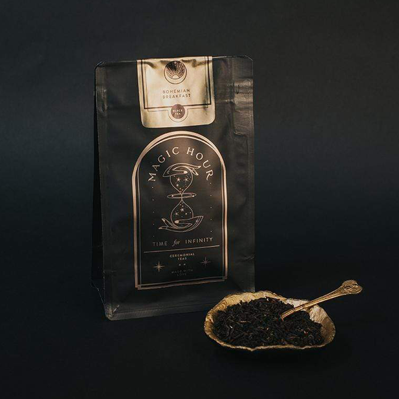 Magic Hour Bohemian Breakfast - Vanilla Puerh Black Tea