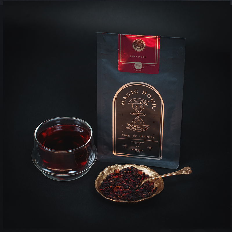 Magic Hour Ruby Moon - Hibiscus Elderberry Tea