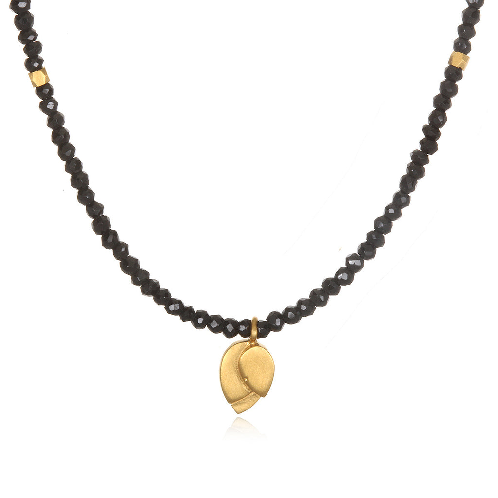 Divine Guidance Onyx Choker Necklace - Satya Jewelry