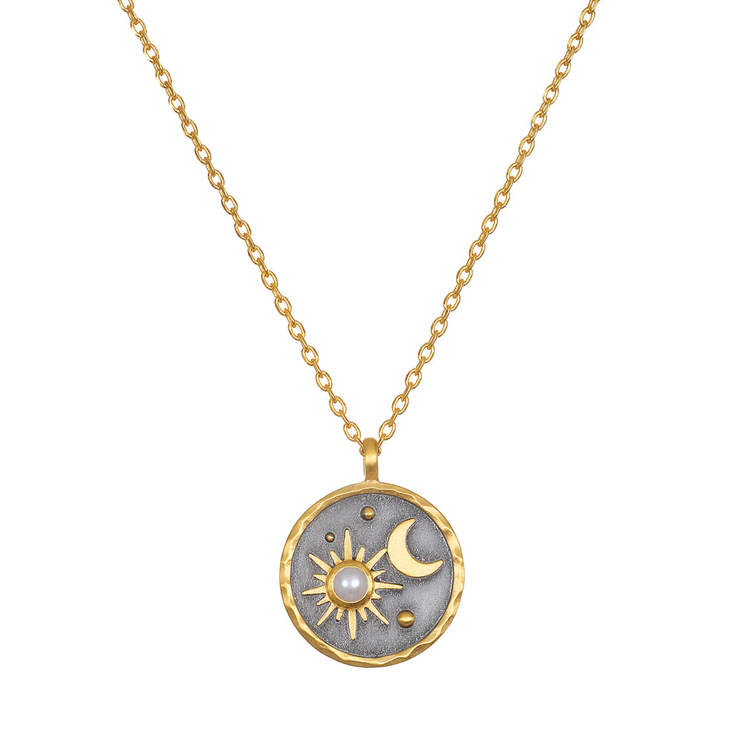 Celestial Birthstone Necklace - June