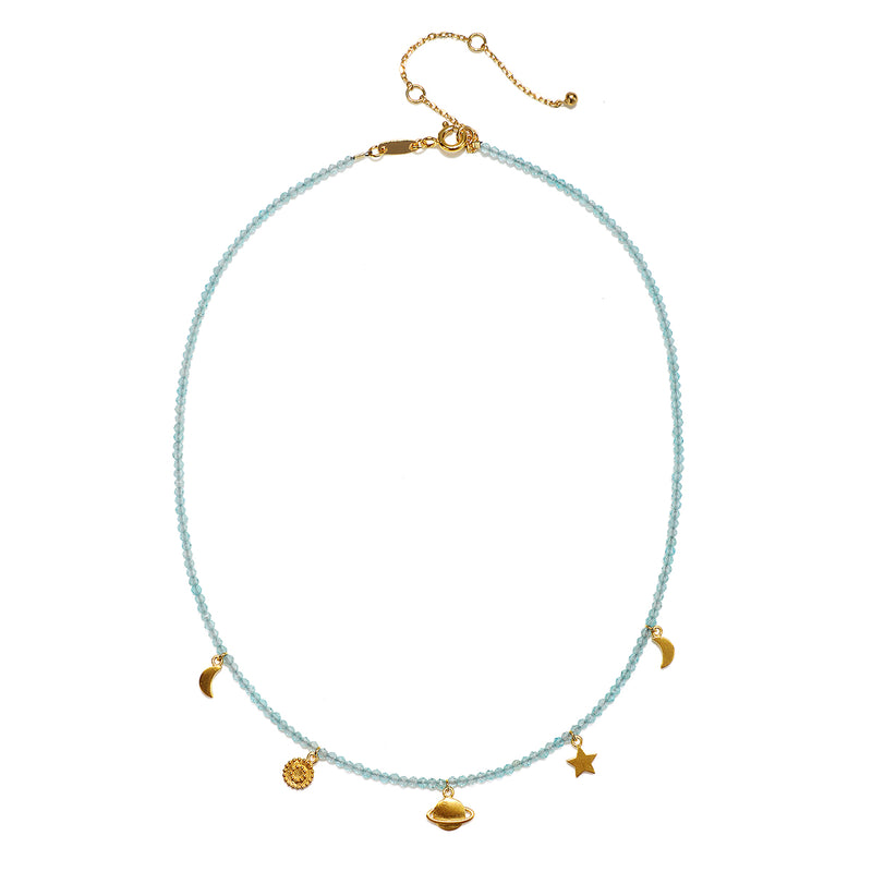 Gaining Clarity Choker - Satya Jewelry