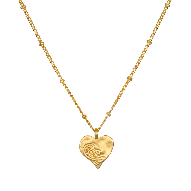 Spirit of Love Gold Necklace - Satya Jewelry