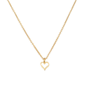 Expression of Love Gold Necklace - Satya Jewelry