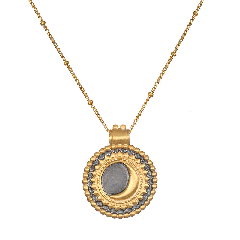 Divine Awakening Eclipse Necklace
