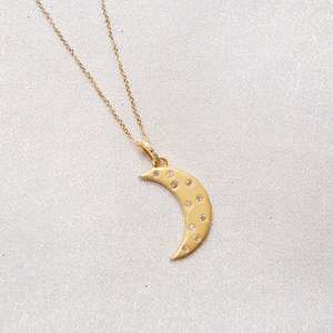 Magic in Moonlight Gold Necklace - Satya Jewelry