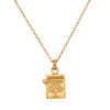Rooted in Spirituality Gold Necklace