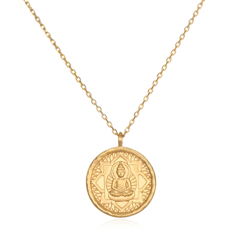 Buddha, Inner Peace Necklace - Satya Jewelry