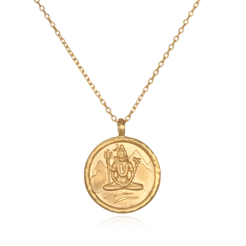 Shiva Hindu God, Compassionate Change Necklace - Satya Jewelry