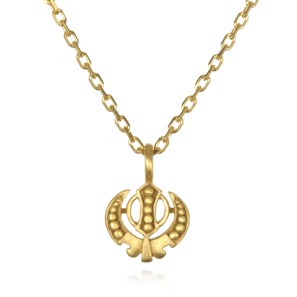 Adi Shakti Gold  Necklace - Satya Online