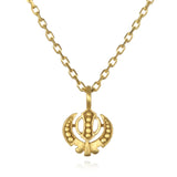 Adi Shakti Gold  Necklace - Satya Jewelry