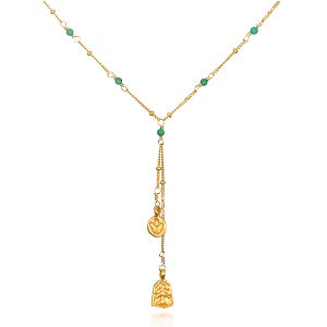 Turquoise Pathways Necklace - Satya Jewelry