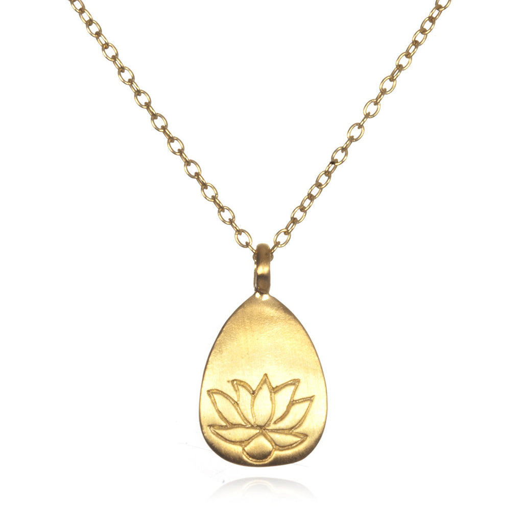 Arise Lotus New Beginnings Necklace - Satya Jewelry