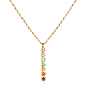 Divine Alignment Chakra Necklace - Satya Jewelry
