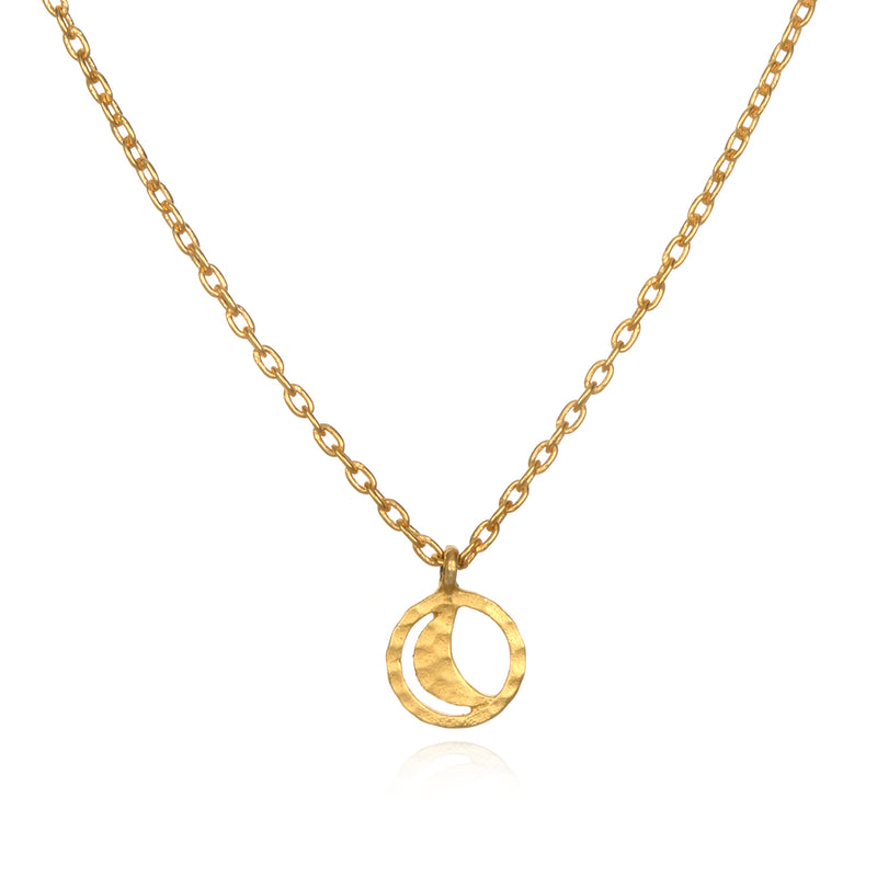Cradled by the Moon Necklace - Satya Jewelry