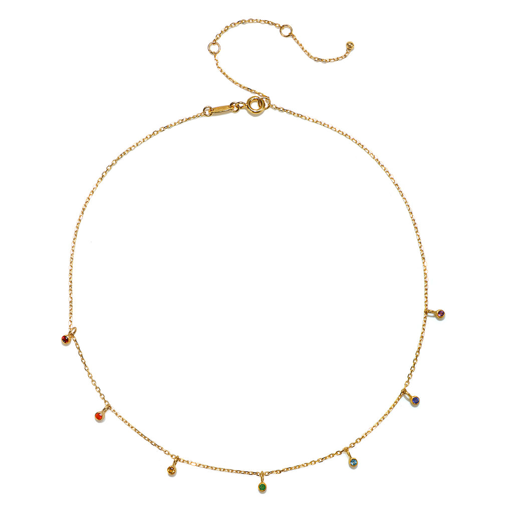 Shift Into Alignment Choker Necklace