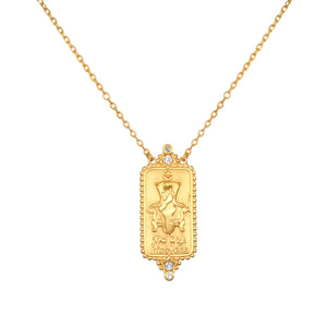 The High Priestess Tarot Necklace