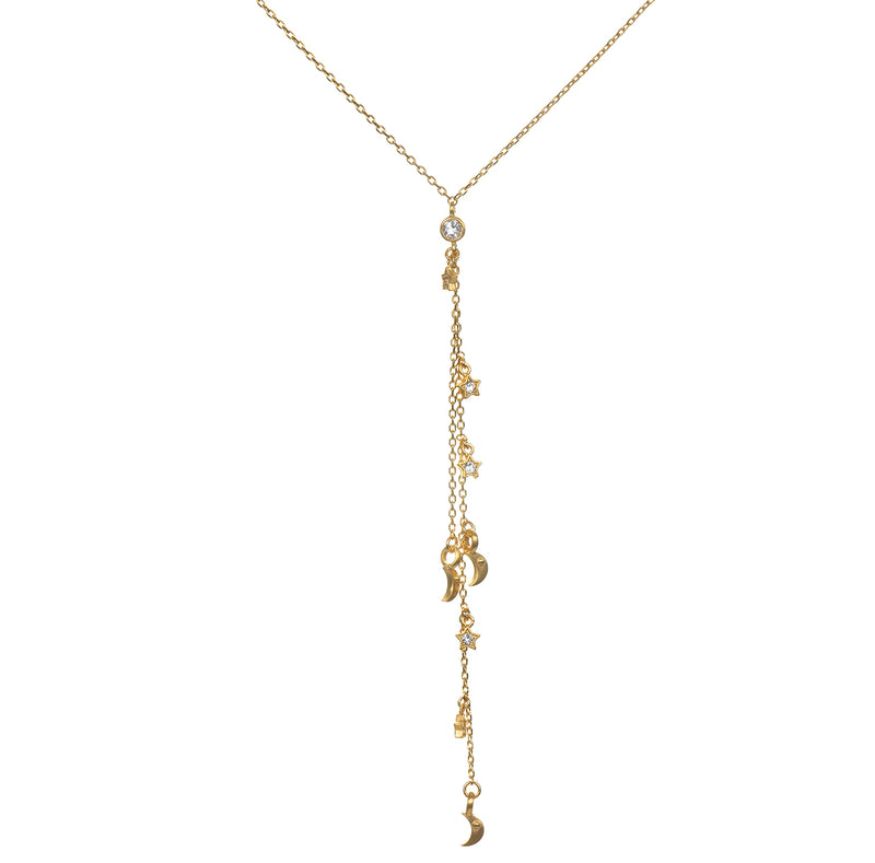 Guiding Light Lariat Necklace - Satya Jewelry