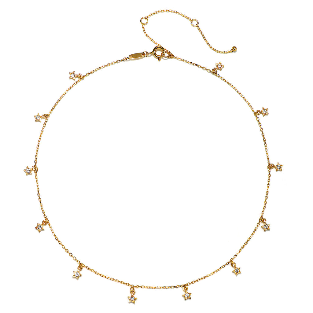 Stellar Luminosity Choker Necklace