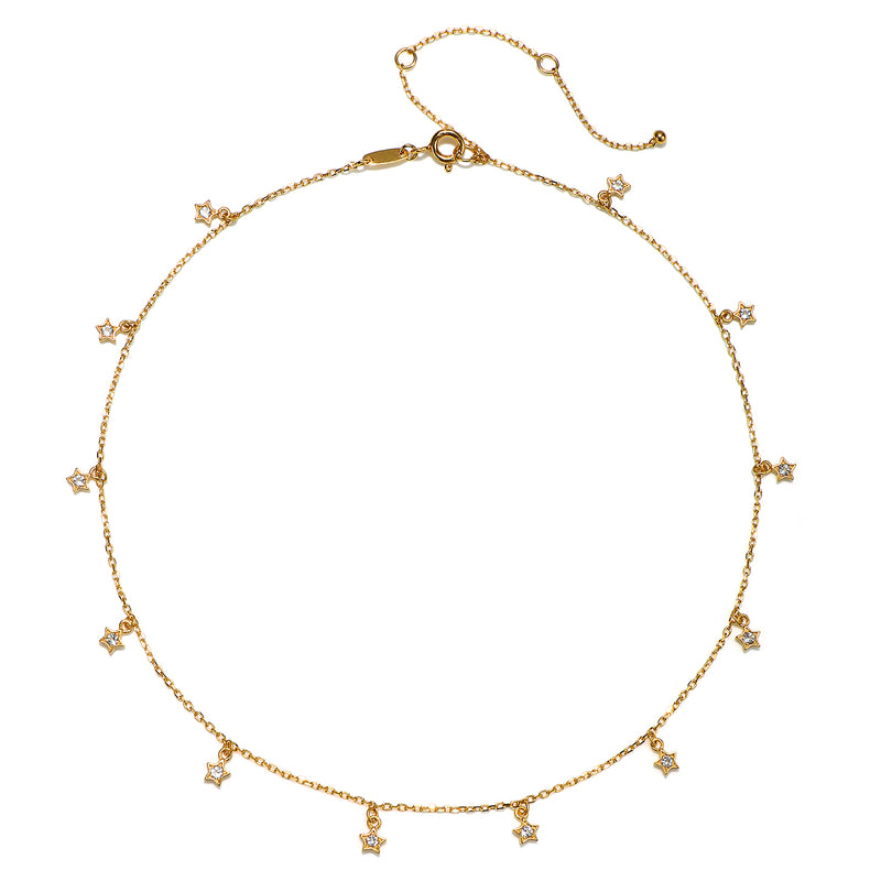 Stellar Luminosity Choker Necklace - Satya Jewelry