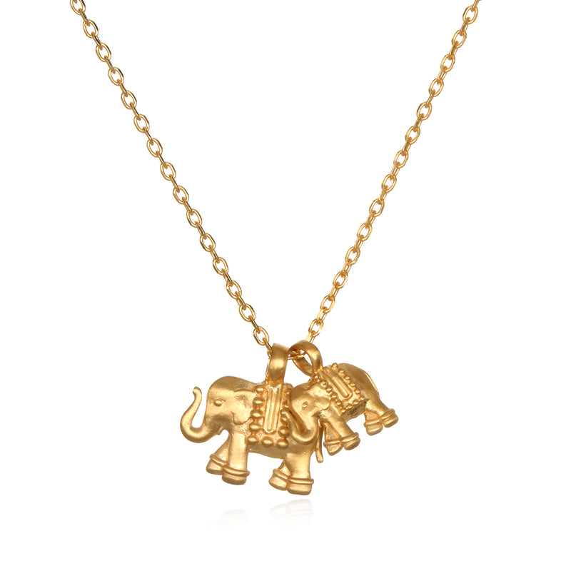 Elephant Love Necklace - Satya Jewelry