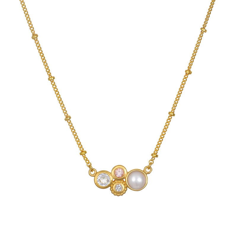 In Unity Gold Necklace - Satya Jewelry