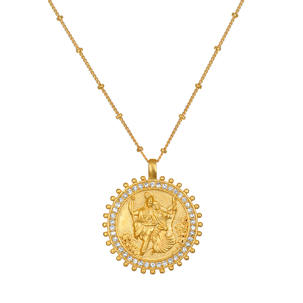 Rahda & Krishna Hindu Deities, Love Necklace - Satya Jewelry