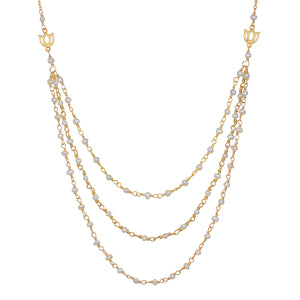 Begin as One Faux Triple Necklace - Satya Jewelry