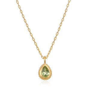 Peridot Gemstone Necklace - Satya Jewelry