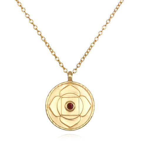 Power Of Love Carded Gold Necklace