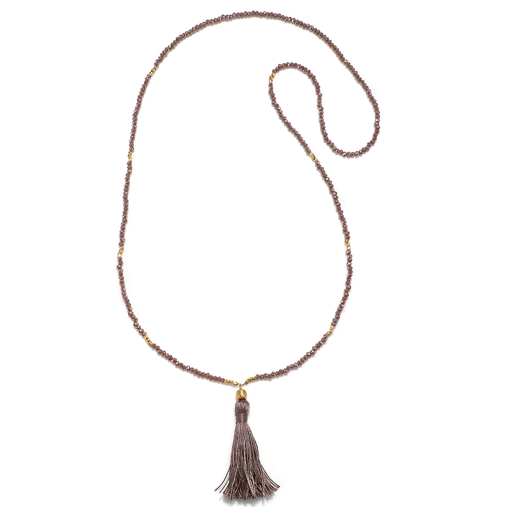 Grounding Essence Tassel Necklace - Satya Jewelry