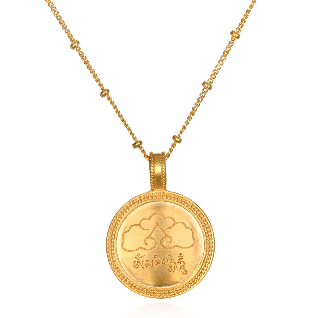 Global Peace Pendant Necklace - Satya Jewelry
